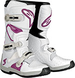 ALPINESTARS Stella Tech 3 Off-Road Boots (White/Violet)