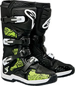 ALPINESTARS Tech 3 Off-Road Boots (Black/Green)