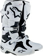 ALPINESTARS Tech 10 Vented Off-Road Boots (White)