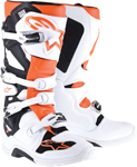 Alpinestars TECH 7 Enduro Boots (White/Orange)
