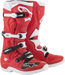 Alpinestars MX Motocross Tech 5 Boots (Red/White)