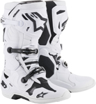 Alpinestars MX Motocross Tech 10 Boots (White)