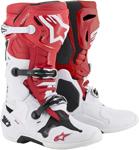 Alpinestars MX Motocross Tech 10 Boots (Red/White/Black)