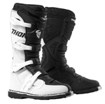 Thor MX Motocross Men's Blitz XP Boots (White/Black)