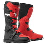 Thor MX Motocross Men's Blitz XP Boots (Red/Black)