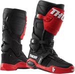 Thor MX Motocross Men's RADIAL Boots (Black/Red/White)