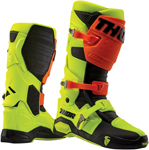 Thor MX Motocross Men's RADIAL Boots (Fluorescent Yellow/Orange)
