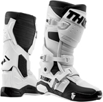Thor MX Motocross Men's RADIAL Boots (White/Black)