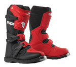 Thor MX Motocross Youth Blitz XP Boots (Red/Black)