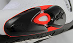 Alpinestars Replacement Toe Slider Set for Supertech / SMX Boots (Red/Black)