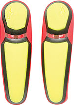 ALPINESTARS Replacement Toe Sliders for S-MX Plus Boots (Yellow/Red)