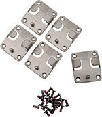 ICON Replacement Buckle & Strap Kit for Truant, Elsinore & El Bajo Boots (Antique Silver)