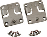 ICON Replacement Buckle Kit for Truant, Elsinore & El Bajo Boots (Antique Silver)