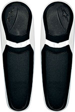 ALPINESTARS Replacement Toe Sliders for S-MX Plus Boots (Black/White)