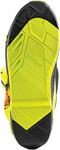 Thor MX Motocross Replacement Outsole Inserts for Thor Radial Boots (Black/Fluorescent Yellow)