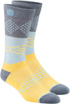 100% MX Motocross Men's ANTAGONIST Athletic Socks (Yellow)