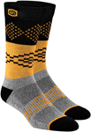 100% MX Motocross Men's ANTAGONIST Athletic Socks (Gray/Black/Orange)