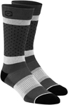 100% MX Motocross Men's OPPOSITION Casual Socks (Gray)