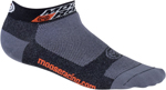 MOOSE Racing MX Motocross Low-Cut Casual Socks (Black)