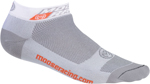 MOOSE Racing MX Motocross Low-Cut Casual Socks (White)