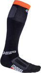 MOOSE Racing MX Motocross Offroad XCR Over-the-Calf Thick Socks (Black)