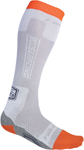 MOOSE Racing MX Motocross Offroad SAHARA Over-the-Calf Thin Socks (Grey)