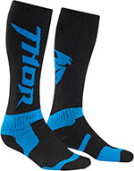 THOR MX Motocross 2016 Men's MX Socks (Black/Cyan)