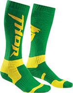 THOR MX Motocross 2016 Men's MX Socks (Green/Yellow)
