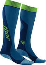 THOR MX Motocross 2016 Men's MX Cool Socks (Blue/Green)