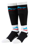 ICON Raiden XCP Performance Dual-Sport Motorcycle Socks (Black/White)