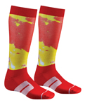 THOR MX Motocross Men's 2017 MOTO Sub Socks (Red)