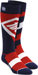 100% MX Motocross TORQUE Performance Tech Moto Socks (Red)