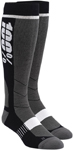 100% MX Motocross HI-SIDE Performance Tech Moto Socks (Black)