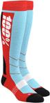 100% MX Motocross HI-SIDE Performance Tech Moto Socks (Red)
