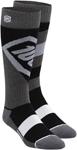 100% MX Motocross Kids TORQUE Performance Tech Moto Socks (Black)