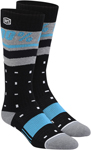 100% MX Motocross Women's GROOVE Moto Socks (Black) One Size