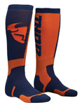 THOR MX Motocross Men's 2018 MX Socks (Navy/Orange)