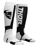 THOR MX Motocross Kids 2018 MX Socks (White/Black)