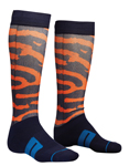 THOR MX Motocross Men's 2018 MOTO SUB Socks (Navy/Orange)