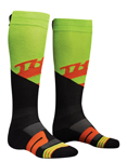 THOR MX Motocross Men's 2018 MOTO KNIT Socks (Green)