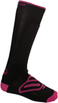 Arctiva Snow Snowmobile Women's Insulator Heavy-Weight Socks (Pink/Black)