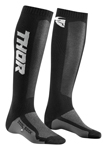 Thor MX Motocross Men's MX Cool Socks (Black/Charcoal)