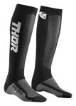 Thor MX Motocross Youth MX Cool Socks (Black/Charcoal)