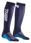 Thor MX Motocross Men's MX Cool Socks (Navy/White)
