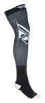 Fly Racing MX Motocross MTB BMX Men's Knee Brace Sock (Black/White)
