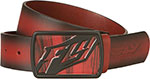 FLY RACING Gentlemen's Leather Belt & Buckle (Cherry Wood)