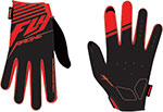 FLY Racing MTB Watercraft - Media Cycling Gloves (Black/Red)