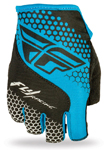 FLY RACING Watercraft MTB BMX 2017 LITE Fingerless Gloves (Blue/Black)