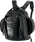 ICON Urban Magnetic Motorcycle Tank Bag / Backpack (Black/Cityscape)