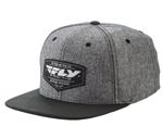 Fly Racing MX Motocross MTB BMX 2018 PATHFINDER Hat/Cap (Heather Gray)